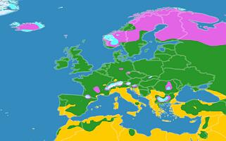 Klimazonen Europa