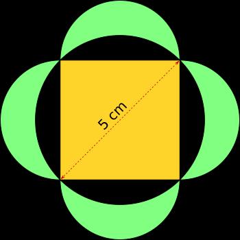 Quadrat In Kreis